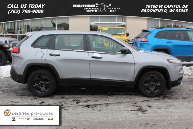 Certified Pre-Owned 2014 Jeep Cherokee 2WD Sport