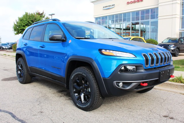 New 2018 Jeep Cherokee 4wd Trailhawk Sport Utility In