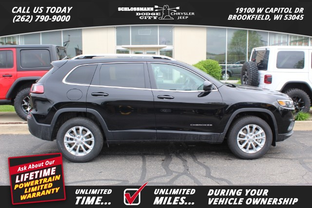 New 2019 JEEP Cherokee 4WD Latitude