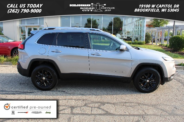 Certified Pre Owned 2015 Jeep Cherokee 4WD Latitude
