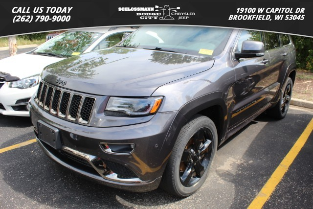 Pre-Owned 2016 Jeep Grand Cherokee 4WD High Altitude