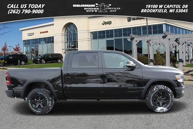 New 2020 RAM 1500 4WD Rebel Crew Cab