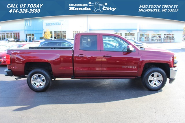 Pre Owned 2016 Chevrolet Silverado 1500 4wd Lt W 1lt Double Cab