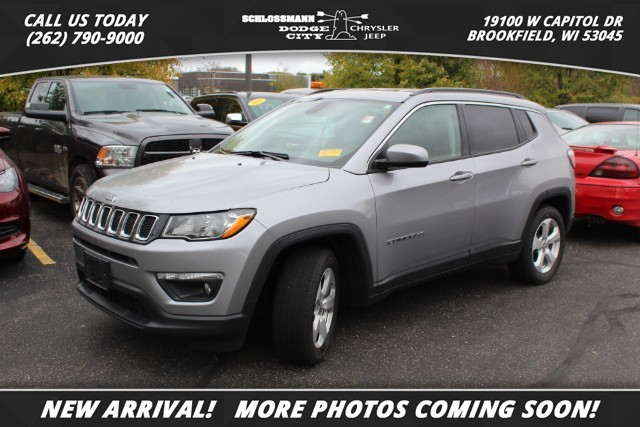 Certified Pre-Owned 2017 Jeep Compass 2WD Latitude