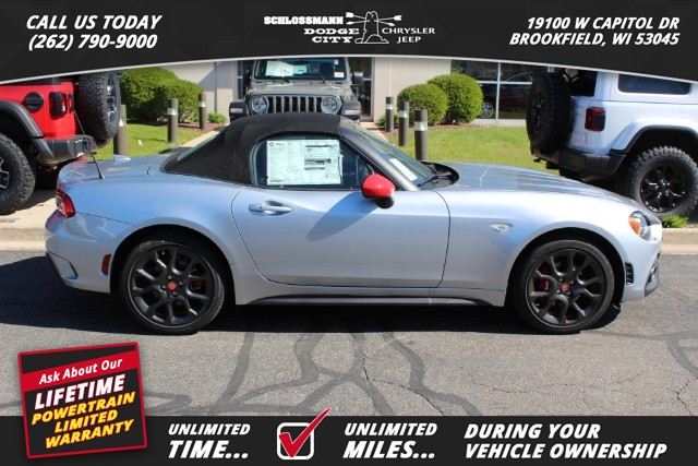 New 2019 FIAT 124 Spider Elaborazione Abarth