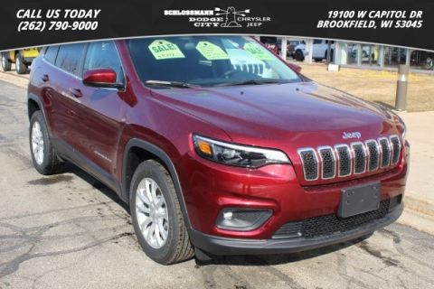 New 2019 JEEP Cherokee 2WD Latitude
