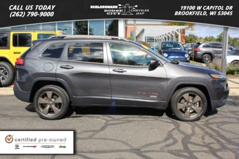 Certified Pre-Owned 2017 Jeep Cherokee 2WD Latitude