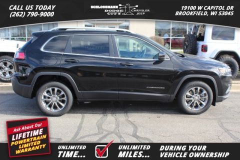 New 2019 JEEP Cherokee 2WD Latitude Plus