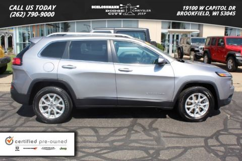 Certified Pre-Owned 2015 Jeep Cherokee 4WD Latitude