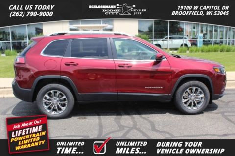 New 2019 JEEP Cherokee 4WD Latitude Plus