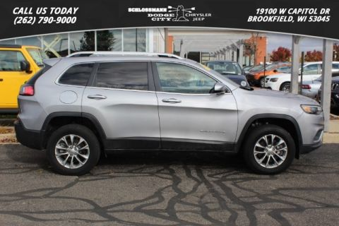 Certified Pre-Owned 2019 Jeep Cherokee 4WD Latitude Plus
