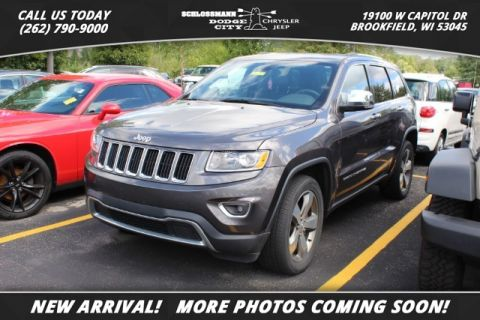 Certified Pre-Owned 2016 Jeep Grand Cherokee 4WD Limited