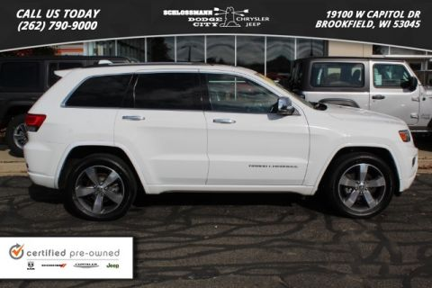 Certified Pre-Owned 2016 Jeep Grand Cherokee 4WD Overland