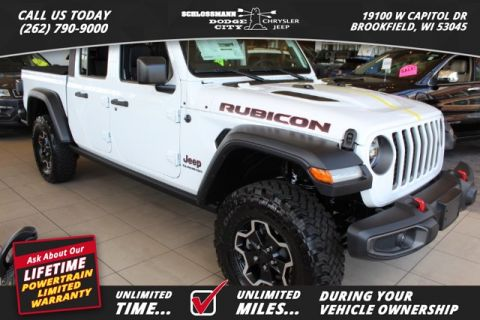 New 2020 JEEP Gladiator 4WD Rubicon
