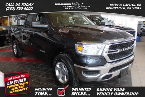New 2019 RAM All-New 1500 4WD Tradesman Quad Cab